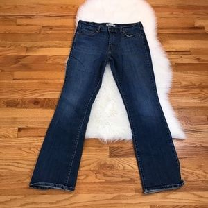 Levi's Medium Dark Wash Bootcut Jeans 515 Sz 12